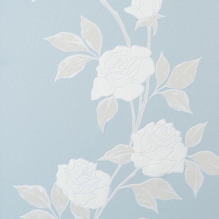 Behang blauw Feel Good Wallpaper blue Feel Good - BN Wallcoverings