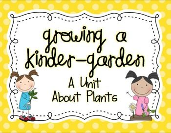 Have fun learning about plants! This free science unit includes songs, experiments, craft ideas, anchor charts, and more. I also included a sample unit outline so you can see how I implemented this unit in my classroom. Enjoy!