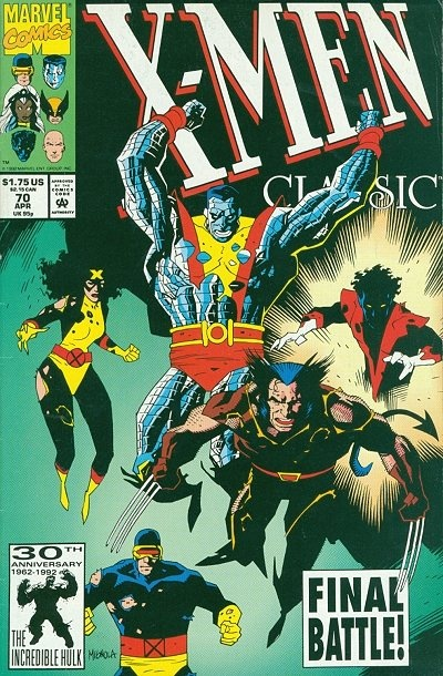 X-Men Classic # 70 by Mike Mignola