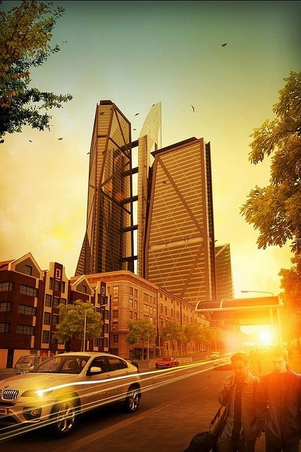 Sandton International Finance Centre. Will be developed in the Sandton CBD. It could potentially be the tallest tower in Africa upon its completion. Designed by TPSP Architects.