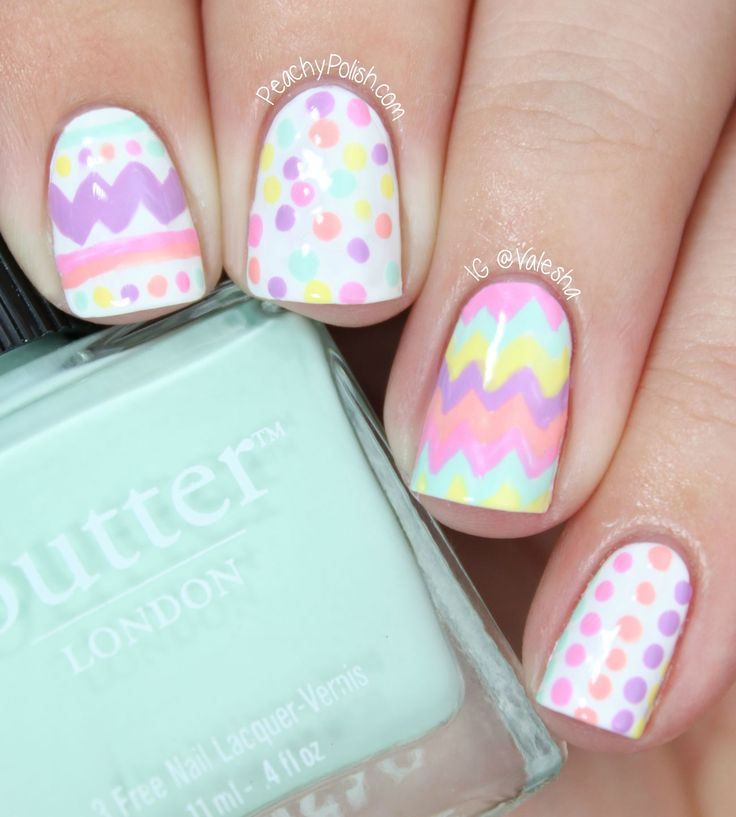 94 best Easter Nail Designs images on Pinterest | Easter nail art ...