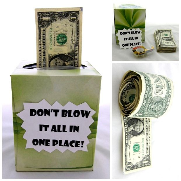 Cash is always a thoughtful gift, but these DIY ideas make the gesture extra special.