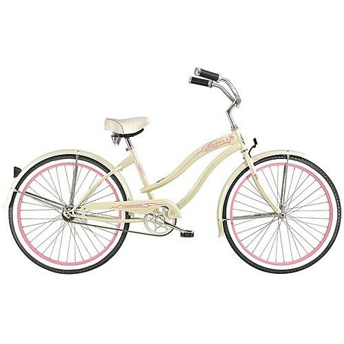 "26"" Micargi Rover GX Women's Beach Cruiser Bike, Vanilla at Walmart!"