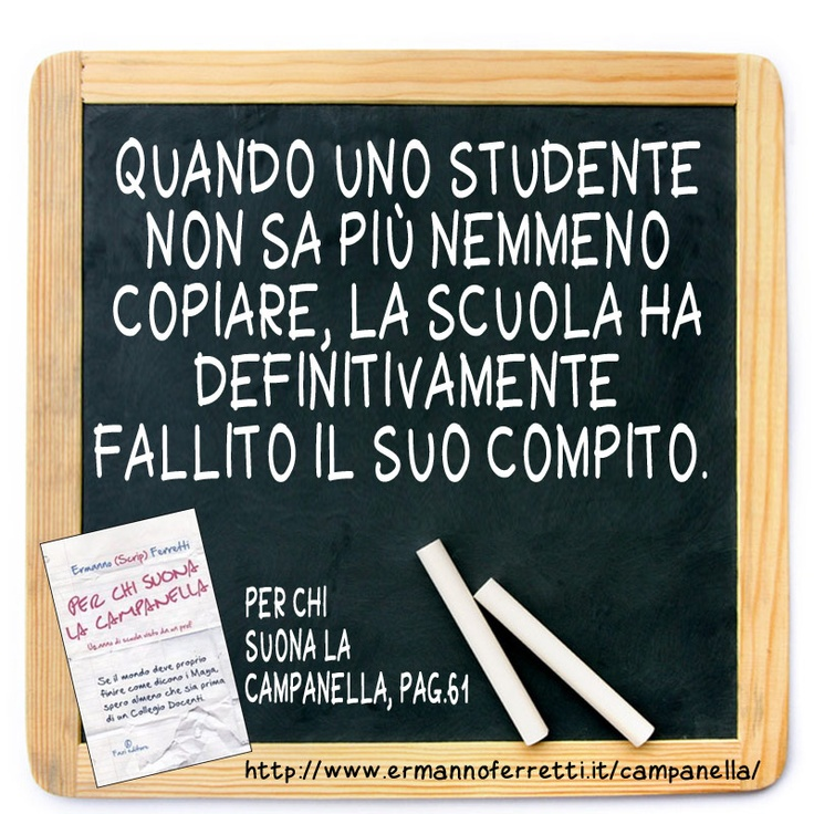 I fallimenti della scuola
