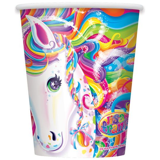 9oz Rainbow Majesty® by Lisa Frank Paper Cups, 8ct
