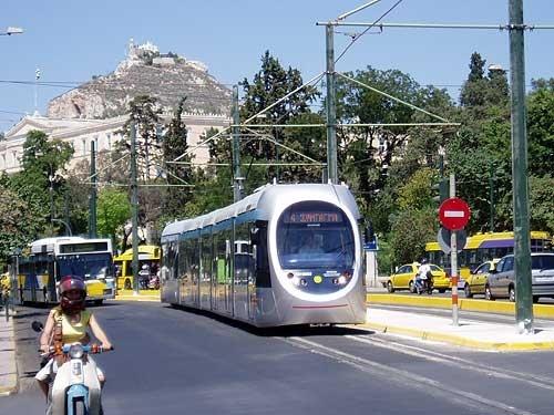 Athens Tram - Athens, Greece