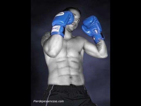 Entrenamiento de boxeo para bajar de peso en casa