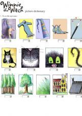 ESL - English Exercises: Winnie the witch picture dictionary