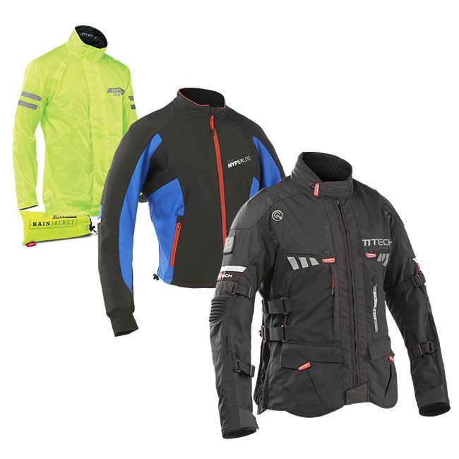 MTECH Rainforest Warm giacca da moto turismo
