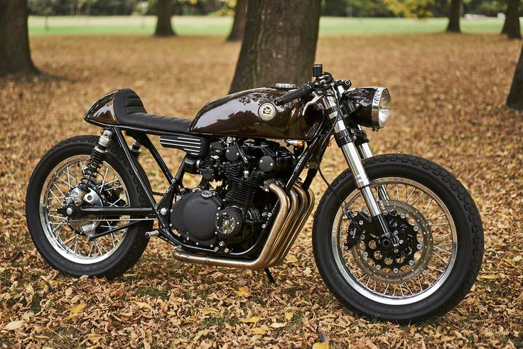 The Cafe Racer's Not Dead: Eastern Spirit's sublime Suzuki GS550