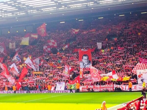 What a football club. The supporters today were fantastic. Liverpool has real history, Liverpool has a mighty future. #LFC