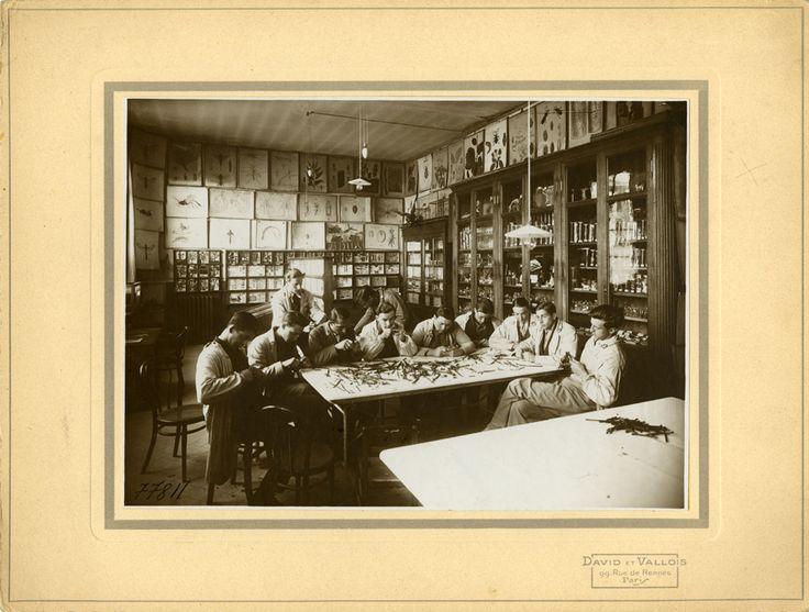 Grignon (Promotion 106 ?), photographie ancienne, vers 1932 /  ©Musée du Vivant - AgroParisTech