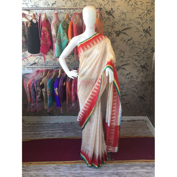Striking Orangeoffwhite Color Pure Cottan Silk Saree at just Rs.999/- on www.vendorvilla.com. Cash on Delivery, Easy Returns, Lowest Price.