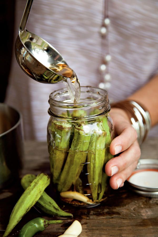 Pickled Okra - 33 Southern Pickle Recipes to Relish - Southernliving. This easy pickling recipe is very forgiving
