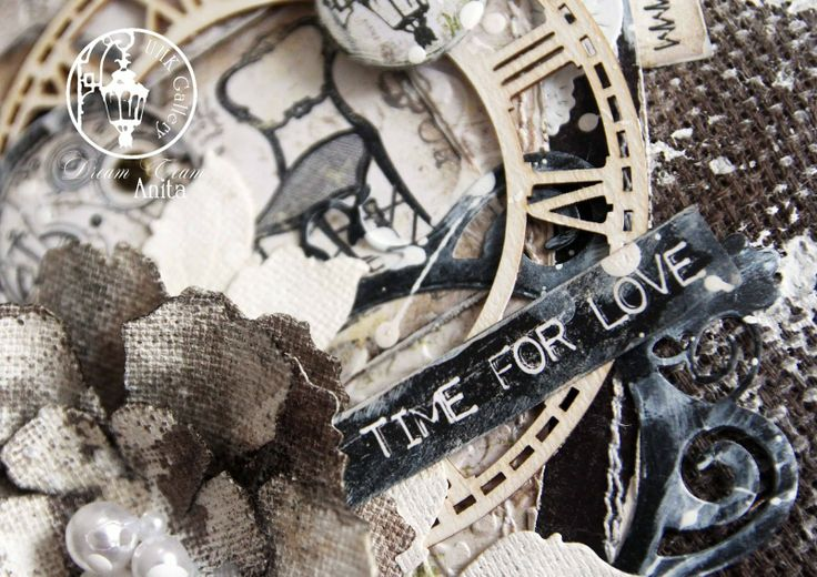 """UHK Gallery - inspiracje Amazing pillow """"Time for love"""" by Anita Nosova (UHK Gallery Dream Team)"""