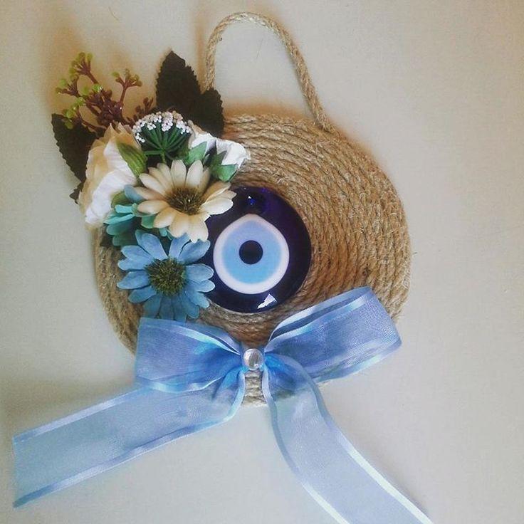 Nazar boncuklu süsler #eveleye #nazarboncugu #evdekorasyonu #handmade #decorations #elişi #decorativeitems#flower http://turkrazzi.com/ipost/1521103148197135116/?code=BUcC0EPBMMM