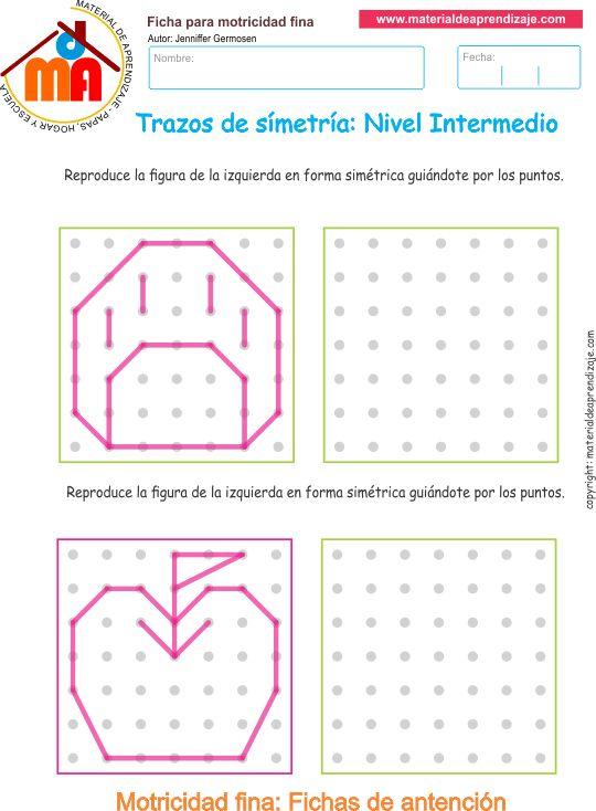 10 Trazos de simetría - Intermedio