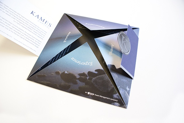 Kames Fixed Income Funds Direct Mail by Scott Millar, via Behance