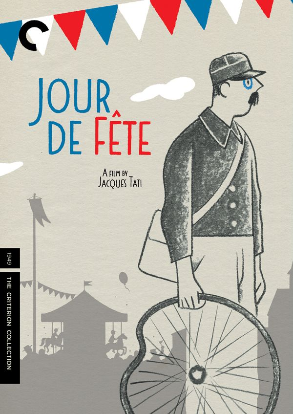 Movie Poster of the Week: The Criterion Jacques Tati covers on Notebook   MUBI