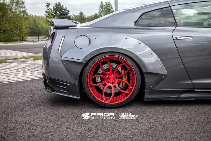 PD750 Widebody Aerodynamik-Kit für Nissan GT-R 色々な車種にて取扱いしております! お気軽にお問い合わせください♪  #priordesign #GTR #エアロパーツ #R35