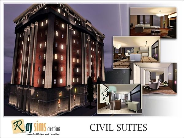 Civil Suites by Ray_Sims