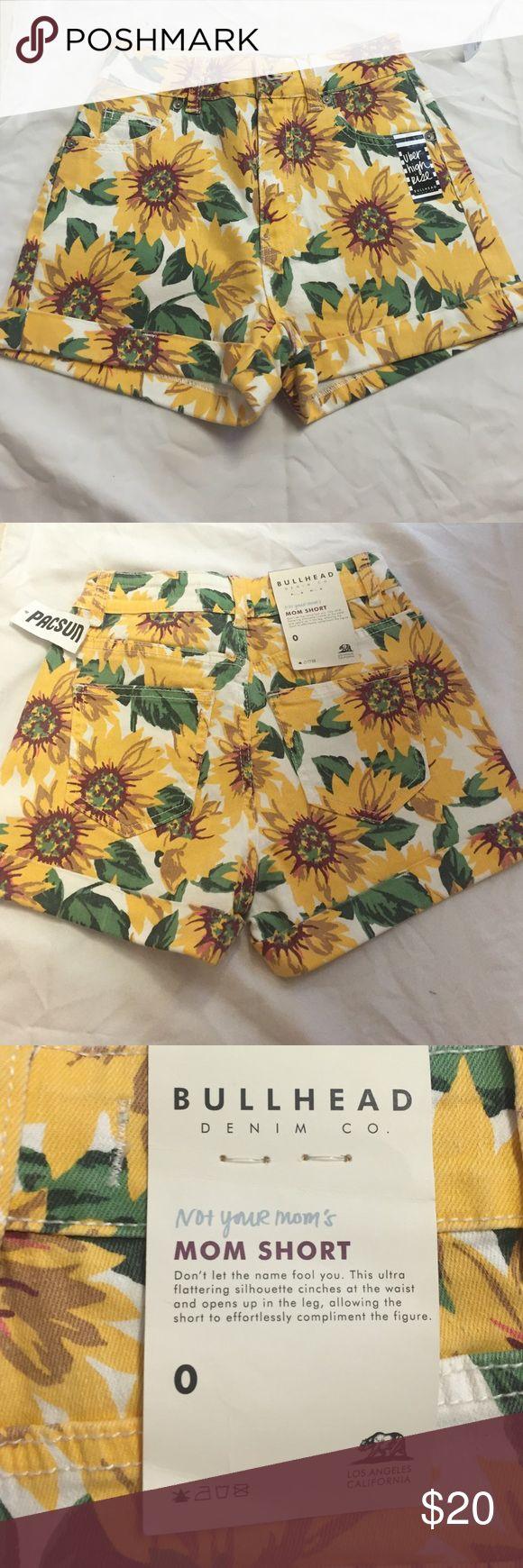 Pacsun Daisy shorts Pacsun Bullhead Denim Co. uber high rise mom shorts. Size 0. New with tags. Bullhead Shorts Jean Shorts