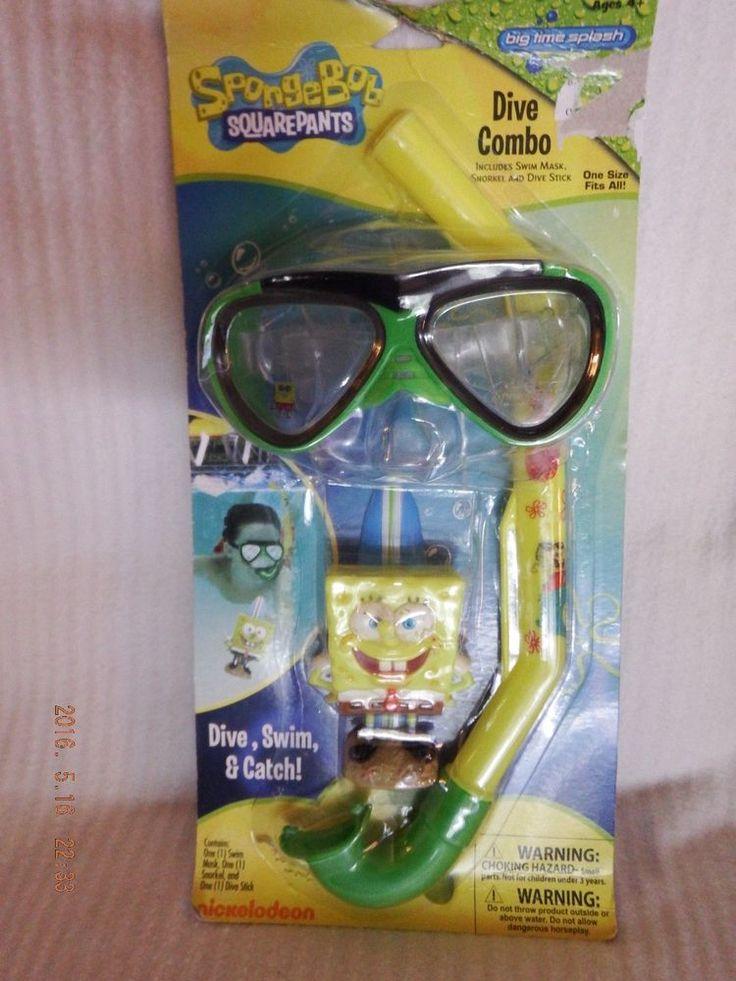 Nickelodeon's SpongeBob Squarepants Dive Combo   NIP    P5