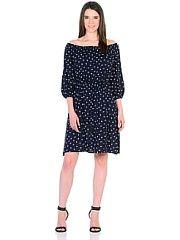 Платье LOVEmily  Очаровательное платье в романтическом стиле выполнено из тонкой вискозы штапель - вы будете чувствовать себя комфортно даже в жаркую погоду. Лиф отрезной объёмный. Глубокий вырез горловины собран на эластичную ленту. Платье можно носить в двух вариантах с закрытыми и открытыми плечами. В нижней части рукава-реглан и по окружности талии платье собрано на эластичную ленту. Пояс который можно повязать любым способом станет дополнительной изюминкой образа. Широкая юбка…