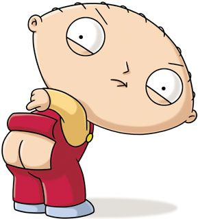Stewie Ass 34