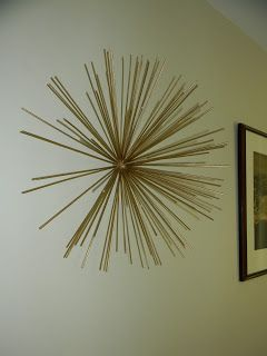 have you been lusting over metal starburst wall sculptures like these