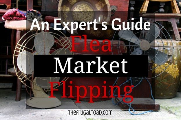 Tips and Tricks to flipping flea market items.