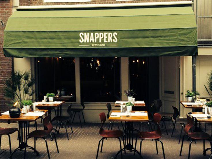 Terras meubilair voor restaurant en café Snappers - via Goesten en Goesten