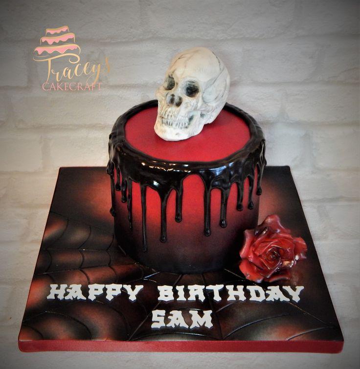 Best 25 Gothic Birthday Cakes Ideas On Pinterest Gothic