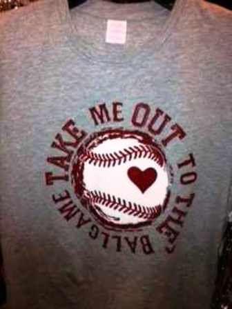 Take Me Out To the Ballgame Tee
