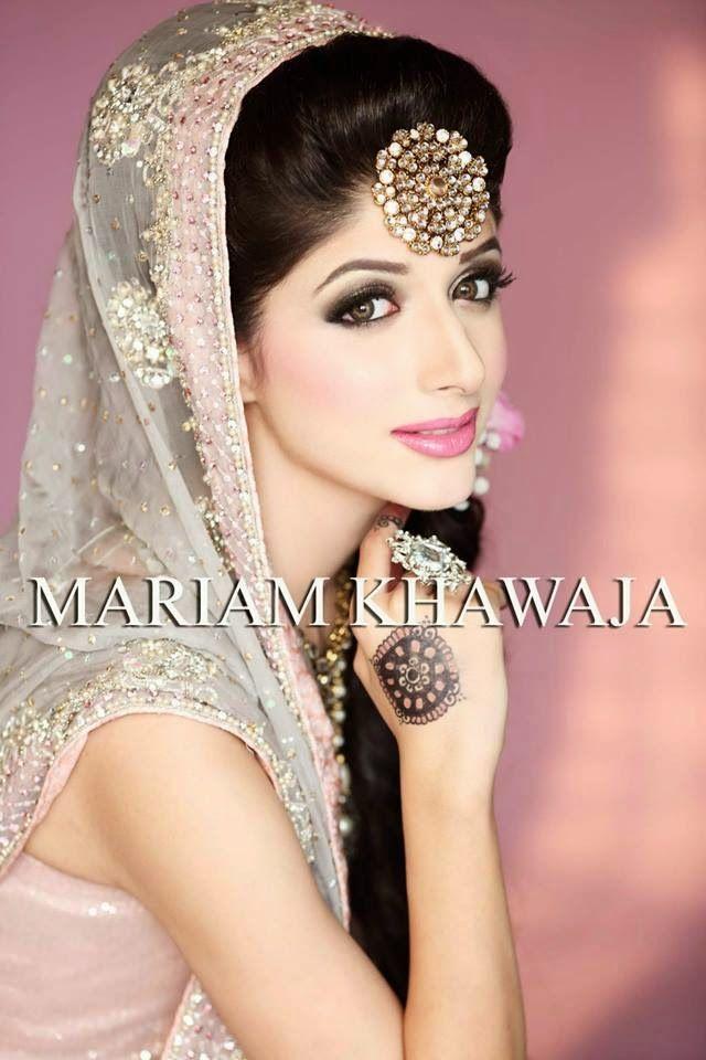 Mariam Khawaja Bridal Makeup Ideas 2014-15 | New Makeup Ideas For Modern Brides