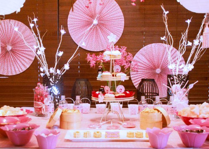 kokeshi kewt party table
