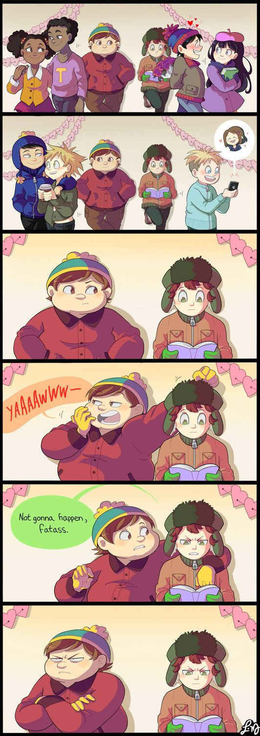 From the new episode of Season 18. I made this for Tumblr because I passed 600 followers, woah! My South Park Art Blog: ask-southparkhigh.tumblr.com