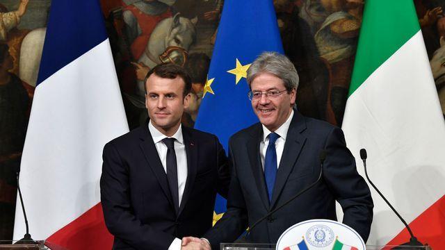 Paris et Rome affichent leur entente et préparent un traité bilatéral