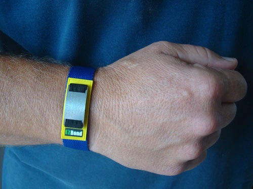 The Full Wrist Model for those who don't wear watches, heart rate monitors or GPS trainers.