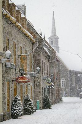 les plus belles photos de la ville de quebec | ... st-Pierre ,place royale.hiver - Vos plus belles photos de capitales