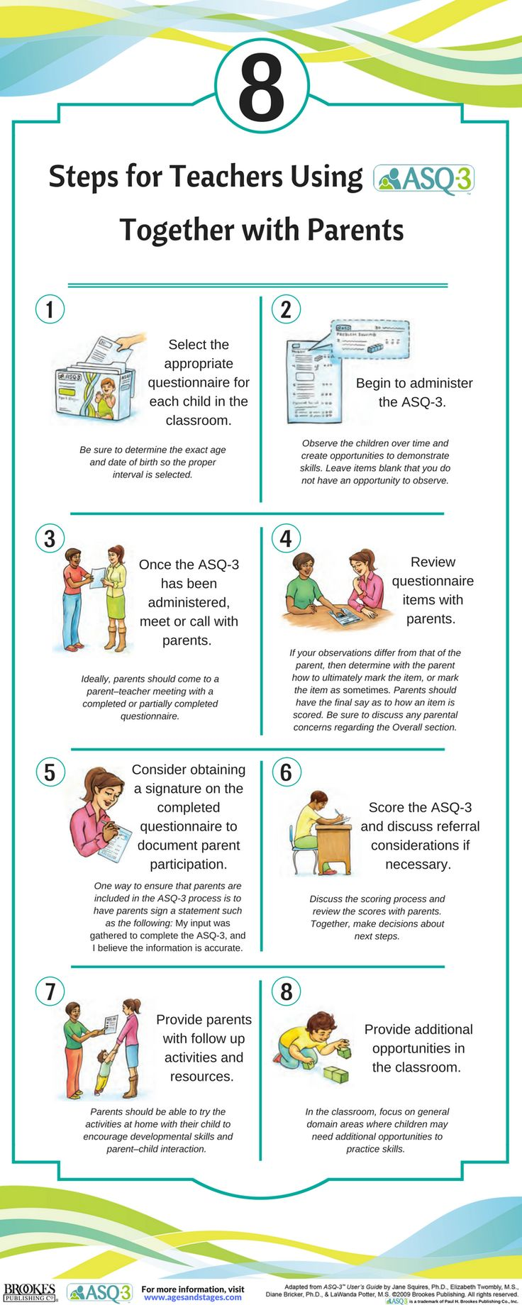 How Can Teachers And Child Care Providers Work With Parents To Administer ASQ 3