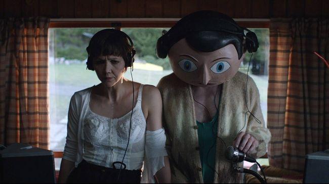 Frank (2014) - Michael Fassbender & Maggie Gyllenhaal