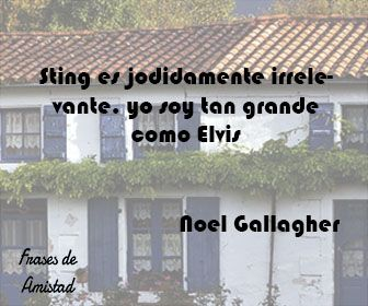 Frases de oasis de Noel Gallagher