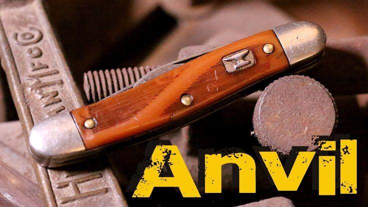 Vintage Anvil U.S.A. Colonial Jack Pocketknife