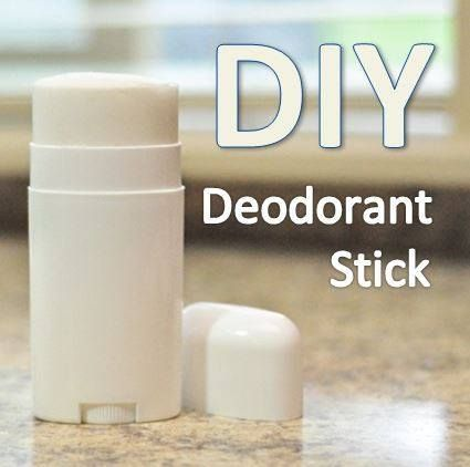 Deodorant Stick: ¼ cup aluminum free baking soda ¼ cup arrowroot (can substitute with cornstarch) 3-5 tablespoons coconut oil 15 drops desired essential oil (see recommendations below) 1 empty deodorant container (you can also purchase one here) - See more at: http://doterrablog.com/diy-deodorant-stick/#sthash.Sf11887o.dpuf
