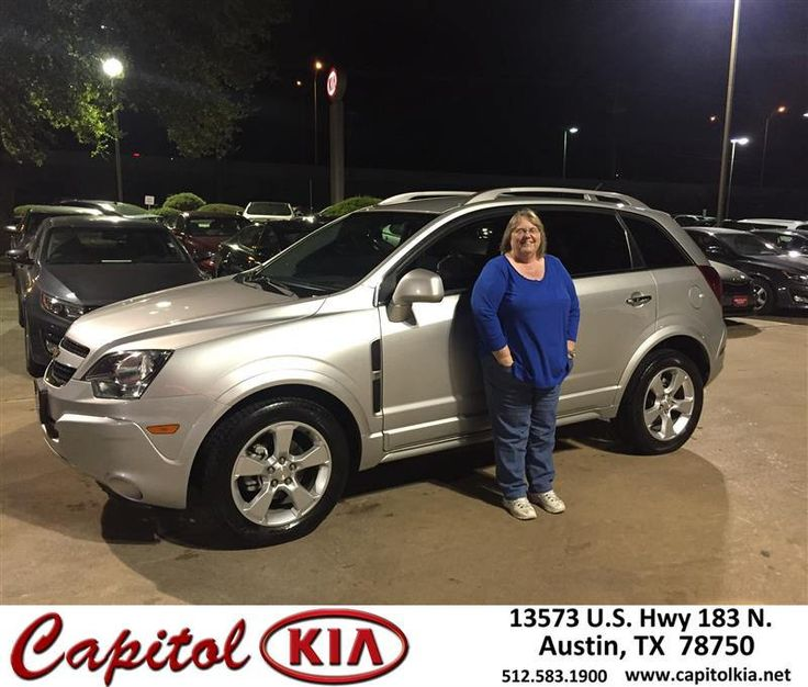 https://flic.kr/p/NQgiy1 | Happy Anniversary to Carol on your #Chevrolet #Captiva Sport Fleet from Robert Bills at Capitol Kia! | deliverymaxx.com/DealerReviews.aspx?DealerCode=RXQC