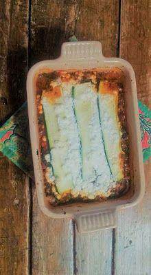 HcG diet recipe phase 2 P2: VEGETARIAN VEGETABLE ZUCCHINI LASAGNA gluten free fat free low carb