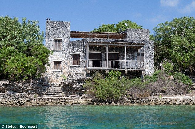 Abandoned home of a Colombian drug lord