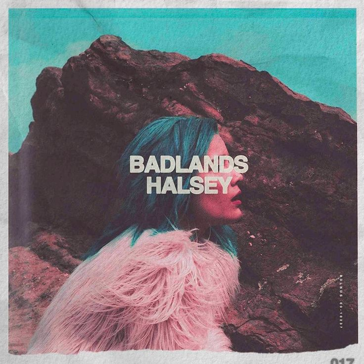 Halsey - Badlands on Colored LP + Download