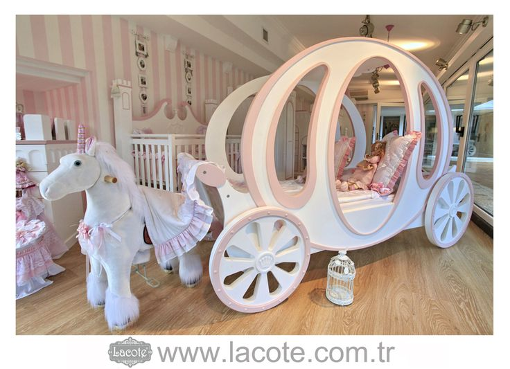 prinzessin carriage bett von lacote auf. Black Bedroom Furniture Sets. Home Design Ideas